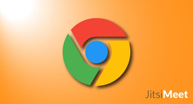 Problèmes dans Google Chrome avec Jitsi Meet