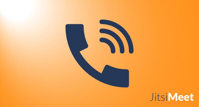 Comment se connecter par téléphone à une conférence Jitsi Meet