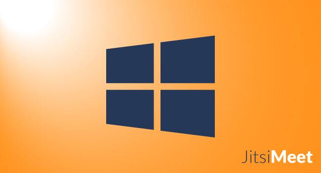 Jitsi Meet sur Windows Comment l'utiliser?